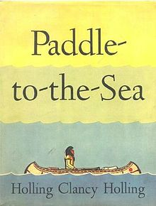 Paddle-to-the-Sea is the book and movie that helped inspire Mary in her quest to bring the ocean to her hometown of Grand Haven.